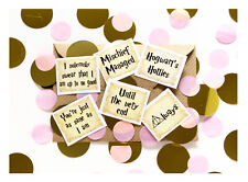 Coco&Bo Hogwarts Hotties Hen Party Table Confetti - Harry Potter Pink Decoration