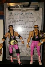 WWE ELITE FLASHBACK BRET HITMAN HART JIM THE ANVIL NEIDHART THE HART FOUNDATION