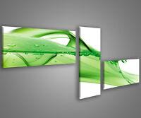 Quadri moderni astratti 180 x 70 stampe su tela canvas con telaio MIX-S_136