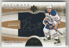 2011 11-12 Ultimate Collection Debut Threads Autographs Ryan Nugent-Hopkins 3/50