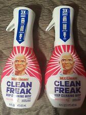 2 Pack Mr. Clean Clean Freak Deep Cleaning Mist Multi-Surface Spray Starter Kit
