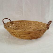 Bamboo Hand Woven Bun/Bread/Fruit Basket