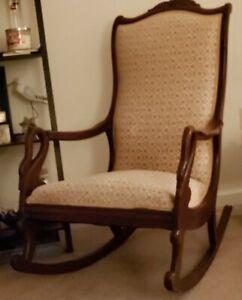 Gooseneck Rocking Chair
