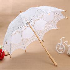 Mode Dekoschirm Regenschirm Sonnenschirm Braut Sonne Schirm Hochzeit Spi XIT