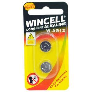 WINCELL Long Life Alkaline 1.5V Cell Battery AG12/SR43W/SR43/386/LR43
