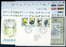 Great Britain 1980-1984 Mail Coaches run of 43 first day covers (2014/12/10/#11)