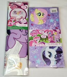 My Little Pony Magical Friendship 2 Piece Canvas Wall Art Glows in the Dark