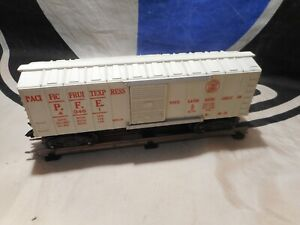 Marx Trains White 43461 Pacific Fruit Express Boxcar