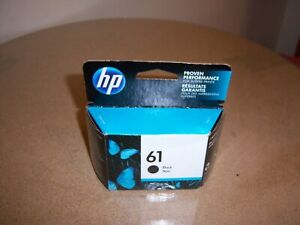 Genuine HP 61 Black Single Original Ink Cartridge New/Sealed Exp 12/2020