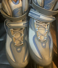 Rollerblade Spirit Blade Women Size 9 InLine - Used Once Grey, White & Blue