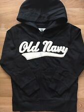 SIZE 10 BRAND NEW OLD NAVY BOYS Black HOODIES JACKET