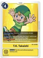 Digimon Card Game - T.K. Takaishi - BT1-087 R ENG NM
