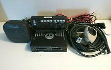 Motorola XTL5000 800 Mhz P25 Digital Trunking Radio M20URS9PW1AN w/ Remote Head