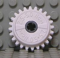 LEGO Technik - Zahnrad mit Rutschkupplung 24 Zähne, weiss / 60c01 NEUWARE