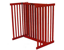 Dynamic Accents Kensington 30-inch Tall Free Standing Dog Pet Gate