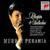 MURRAY PERAHIA: CHOPIN - 4 BALLADES