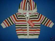 NWT Gymboree Fall Forest Girls Hoodie Sweater 3-6m