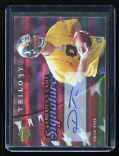 2007 Trilogy America's Game Signatures #AG-DT Drew Tate Auto - #d 197/199