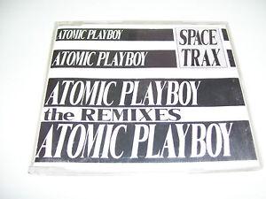 SPACE TRACKS - ATOMIC PLAYBOY REMIXES * 4 TRACK CD MAXI HOLLAND 1991 *