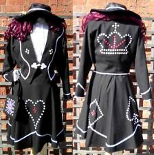Pearly Queen Ex Hire Sale Fancy Dress Costume - Small