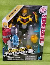 2014 Hasbro Transformers Hero Mashers Bumblebee Figure - NIP NEW