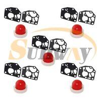 5x Pompe d'amorçage & Membrane joint pour BRIGGS & STRATTON 495770 795083 694394