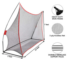 2M&3M Golf Practice Net Hitting Nets Driving Netting Chipping Cage Training Aid