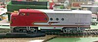 HO scale Bachmann Santa Fe  F7  diesel Locomotive