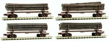 Micro Trains Line Nn3 994 00 953 Log Cars 4 Pack