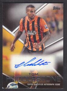 Topps Premier Gold 2014 - Autograph Card - Tom Huddlestone - Hull