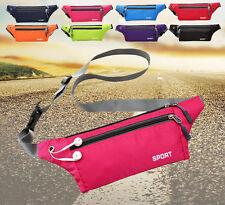 New Men Women Sport Waist Pack Fanny Pack Crossbody Wallet Belt Travel Phone Bag