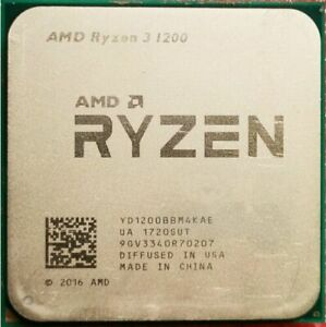 AMD Ryzen 3 1200 R3 1200 4C 3.1GHz 8M Socket AM4 65W CPU Processor