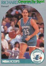 049 RICHARD ANDERSON CHARLOTTE HORNETS CARD CARTE BASKETBALL NBA HOOPS 1990