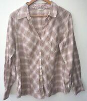 Womens Shirt Neutral 20 M&S <NZ1072z