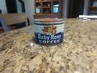 Vintage Baby Rose Coffee Tin