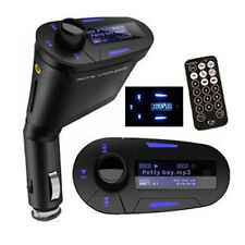 Transmisor FM para Coche con Reproductor Mp3 Display LCD SD/MMC USB y Mando 2188