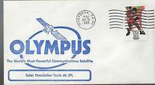 10/30/84 Olympus Worlds most Powerful Com Satellite Test