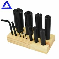 "8 Pcs Expanding Arbors Set Mandrels 1/4"" To 1-1/4"" Lathe Milling High Precision"