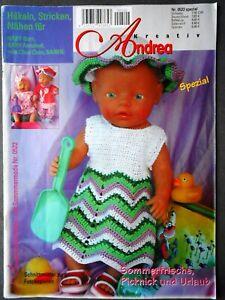 Andrea Kreativ  -  Puppenmode  -  Nr. 0522 Spezial