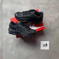NIKE AIR MAX TAILWIND IV TRIPLE BLACK SIZE 5UK 5.5Y BQ9810 004