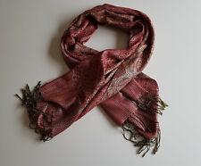 Sjaal roze goud groen oriëntaals