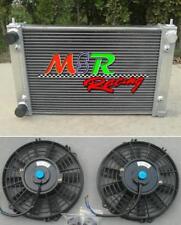 for 86-92 VolksWagon CORRADO SCIROCCO JETTA GOLF GTI MK2 1.8 16V radiator & fans