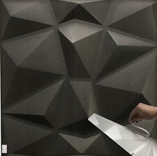 3D Wandpaneele Selbstklebend Deckenpaneele Platten Paneele Polystyrol (2qm-8St.)