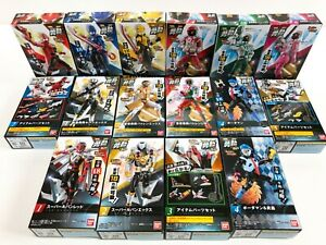 Power Rangers Lupinranger Contre Patoranger Yu-Do Complet Set 16 Boîte Neuf