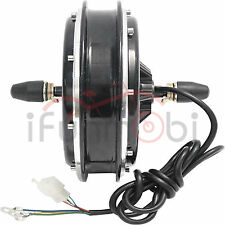 48V 1500W Ebike Brushless Gearless Hub Motor Front Wheel Motor For Electric Bike