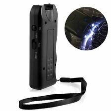 Ultrasonic Dog Chaser Aggressive Pet Attack Repeller Trainers LED Flashlight
