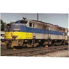 Locomotive Postcard, Long Island Railroad ALCO FA2, No. 601