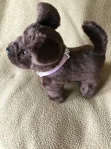 American Girl Doll Pet Brown Chocolate Chip Lab Puppy Dog