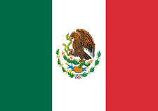 Drapeau Mexique, Drapeau Mexicain 150 x 90 cm Neuf Fête Football Décoration