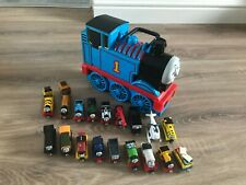 Thomas The Tank Engine Take N Play Bundle 3 D Carry Case 18 Trains CHRISTMAS #1
